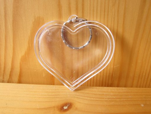 photo keyring heart2