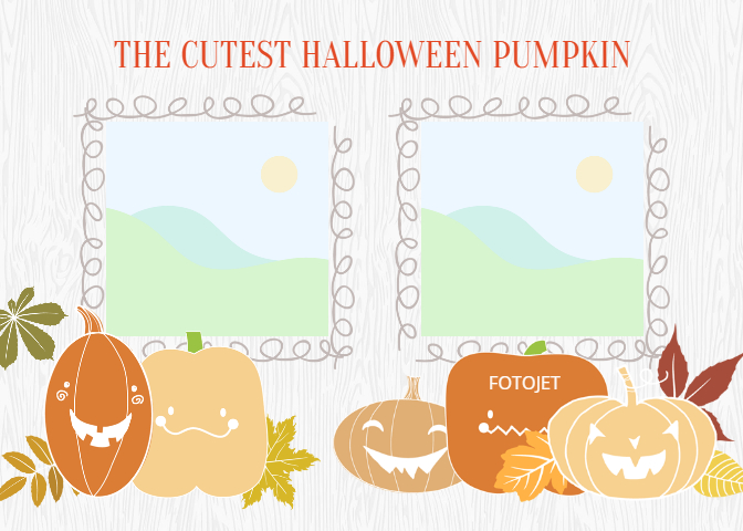 kids party gifts free printable halloween photo card