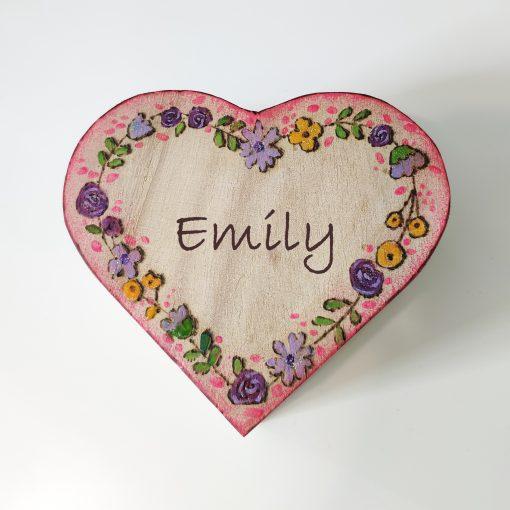 custom valentine jewelry box