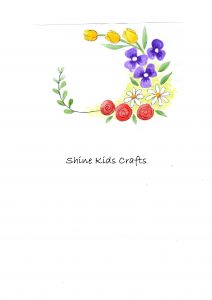 free printable floral drawing
